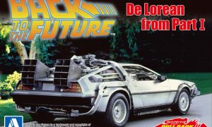 1:43 Scale Pull-Back Car - Back To The Future Pt.1 Delorean Model Car #440