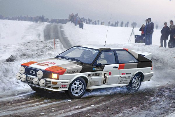 1:24 Scale Audi Quattro Model Kit #1119