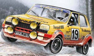 1:24 Scale Italeri Renault 5 Rally / Race Car Model Kit #1120