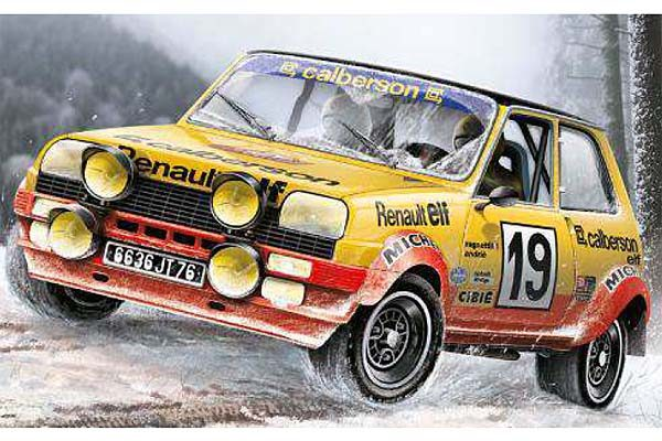 1:24 Scale Renault 5 Rally / Race Car Model Kit #1120
