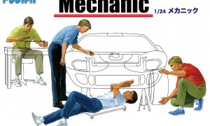 1:24 Scale Mechanic Figures Accessory Set Model Kit #886