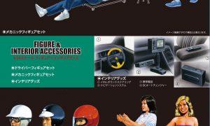 1:24 Scale Figures & Interior Accessories Model Kit #888