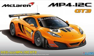 1:24 Scale McLaren MP4 12C GT3 Race Car Model Kit #805