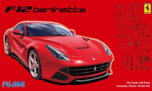 1:24 Scale Fujimi Ferrari Berlinetta F12 DX Model Kit #794