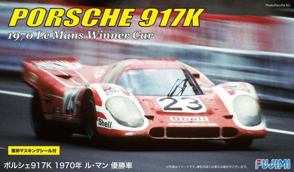 1:24 Scale Porsche 917K 1970 LeMans Winner Model Kit #809p VERY RARE