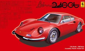 1:24 Scale Ferrari Dino 246GT Model Kit #863 ULTRA RARE