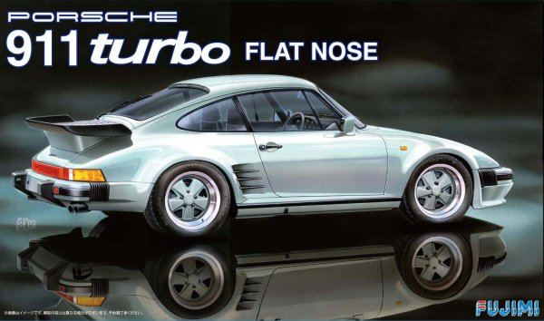1:24 Scale Porsche 911 Flat Nose Model Kit #802 VERY RARE