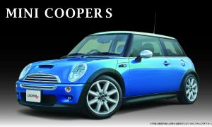 1:24 Scale Mini Cooper S Model Kit #825