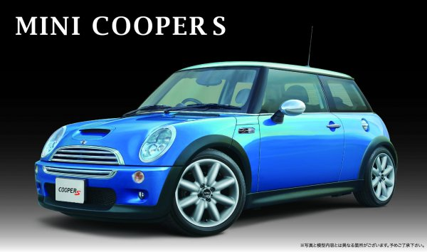 1:24 Scale Fujimi Mini Cooper S Model Kit #825