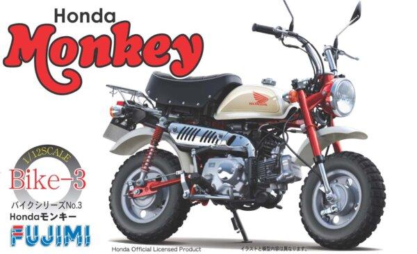 1:12 Scale Honda Monkey Bike Model Kit #918