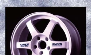 1:24 Scale RAYS TE37 Wheels 17inch Model Kit #1162