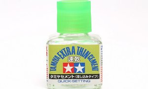 Tamiya Glue Cement For Making Model Kits EXTRA THIN QUICK SET