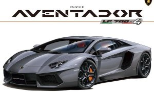 1:24 Scale Lamborghini Aventador LP700-4 Full Engine Detail Model Kit #300
