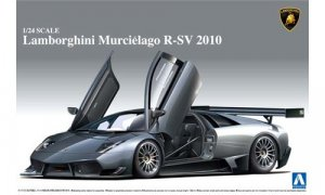 1:24 Scale Lamborghini Murcielago R-SV 2010 Model Kit #302