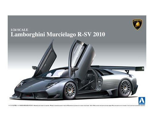 1:24 Scale Lamborghini Murcielago R-SV 2010 Model Kit #302p