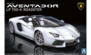 1:24 Lamborghini Aventador LP700-4 Roadster Model Kit #303
