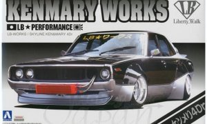 1:24 Scale Aoshima LB Works Ken & Mary 4dr Model Kit #320p