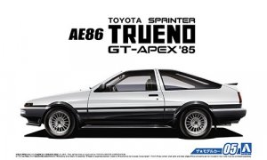 1:24 Scale Toyota Sprinter AE86 Trueno GT-Apex Model Kit 1985 #05p