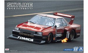 1:24 Scale Nissan Skyline R30 KDR30 Super Silhouette Race Car Model Kit #11