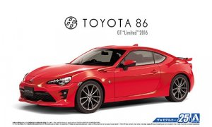 1:24 scale Toyota GT86 #25p