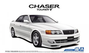 1:24 Scale Aoshima Toyota Chaser JZX100 Tourer 1998 Model Kit #1525