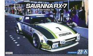 1:24 Scale Mazda RX7 SA22C Racing Car Daytona 1979 Model Kit #22