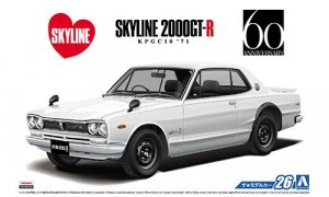 Nissan Skyline GTR Model Kit KPGC10