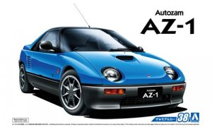 1:24 Scale Aoshima Mazda AZ-1 PG6SA 1992 Model Kit #38p