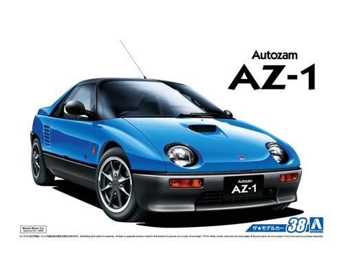 1:24 Scale Aoshima Mazda AZ-1 PG6SA 1992 Model Kit #38p