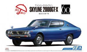 1:24 Scale Nissan Skyline HT2000 GT-X 1974 KGC110 Model Kit #49