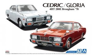 1:24 Scale Aoshima Nissan Cedric Gloria P332 1978 Model Kit #1216p
