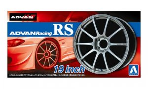 1:24 Scale Advan Racing RS Wheel and Tyre Set 19inch Model Kit #248