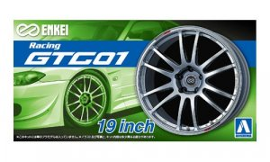 1:24 Scale Enkei GTC 01 Wheel and Tyre Set Model Kit #250
