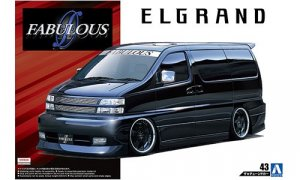 1:24 Scale Nissan Elgrand 2000 APE50 Model Kit #167