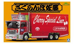 1:32 Scale Truck Japanese Cherry Special Liner Model Kit #505
