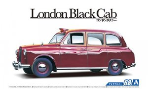 1:24 Scale London Black Cab Taxi 1968 Model Kit #67p