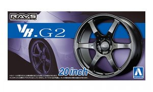1:24 Scale Rays Volk Racing VR-G2 Wheel Set 20inch Model Kit #285