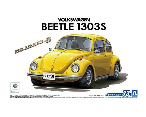 1:24 Scale Volkswagen VW Beetle 1303S 1973 Model Kit #72p
