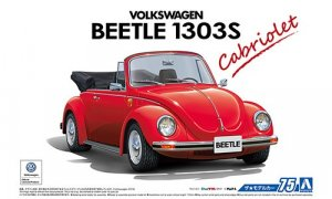 1:24 Scale VW Volkswagen Beetle 1303S Super Beetle Cabriolet Convertible Model Kit #74