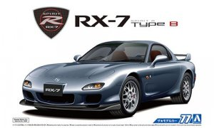 1:24 Scale Aoshima Mazda RX7 FD3S Spirit R Type B 2002 Model Kit #76p