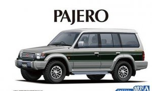 1:24 Scale Mitsubishi Pajero / Shogun LWB V43W Exceed Model Kit #106p