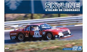 1:24 Scale Aoshima Nissan Skyline R30 Group 5 Kyalami Race Car 1982 Model Kit #110p