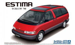 1:24 Scale Toyota Estima Moon Roof 1990 Model TCR11W Model Kit #113