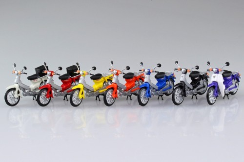 1:32 Honda Super Cub Moped Collection Model Kit #532