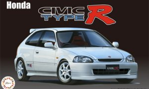 1:24 Scale Fujimi Honda Civic Type R EK9 Early Type Model Kit #552p