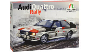 1:24 Scale Italeri Audi Quattro Model Kit #1119