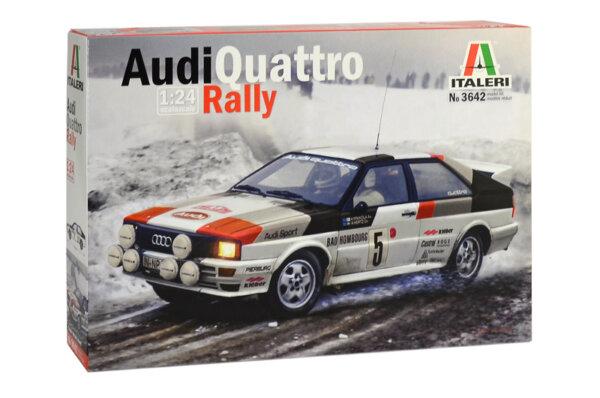 1:24 Scale Italeri Audi Quattro Model Kit #1119