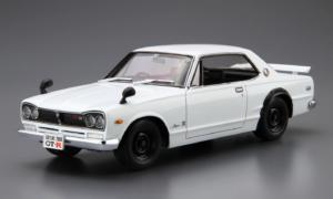 1:24 Scale Aoshima Nissan Skyline GTR Model Kit KPGC10 #26p