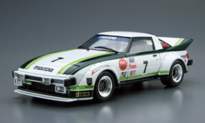 1:24 Scale Aoshima Mazda RX7 SA22C Racing Car Daytona 1979 Model Kit #22