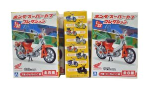 1:32 Scale Aoshima Honda Super Cub Moped Collection Blind Toy #532